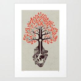 Fourish  Art Print