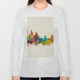 Ho Chi Minh City Saigon Vietnam Skyline Long Sleeve T-shirt