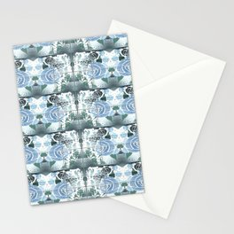 Roses with Bouquets Stationery Cards