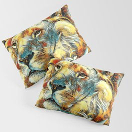 AnimalArt_Lion_20170605_by_JAMColors Pillow Sham
