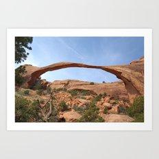 Landscape Arch Art Print