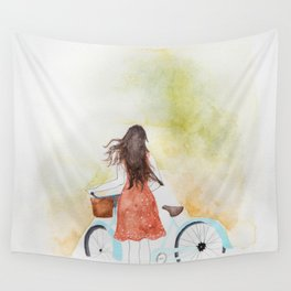 The Winding Road Wall Tapestry