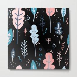 Garden Patten Metal Print