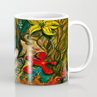 jazz Mugs featuring Jazz by HollyBroderick