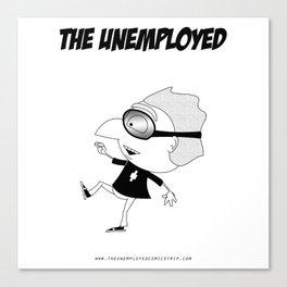 The Unemployed - Polino Canvas Print