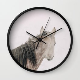 Watching It Snow Wall Clock