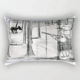 Bambi's Hunter Rectangular Pillow