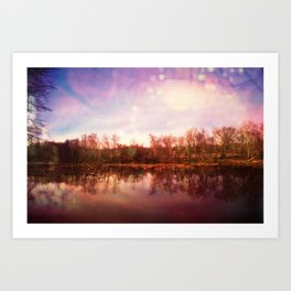 Catawba River Art Print