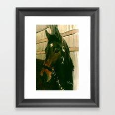 MOLLY'S SPARTAN Framed Art Print