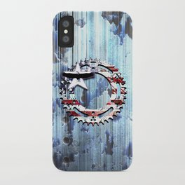blue steel USA iPhone Case