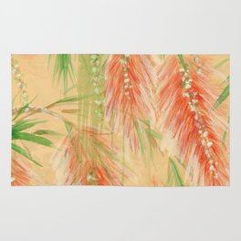 red weeping willow Rug