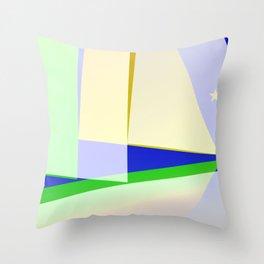 SHIPSHAPE ONE Throw Pillow