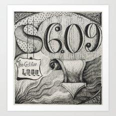 Stock Market #1 Art Print
