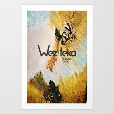 The Glorious Defeat… Wezteka Union Art Print