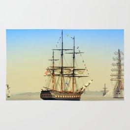 Sail Boston - Oliver Hazard Perry Rug