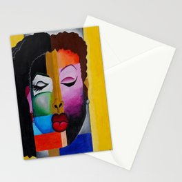 Faces of a Queen Stationery Cards