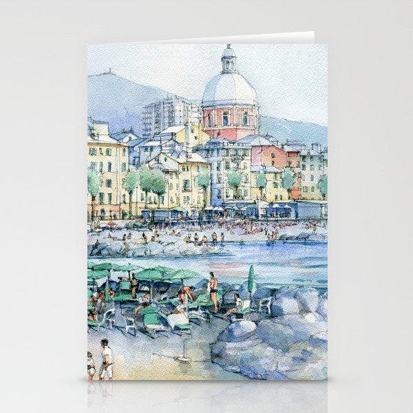 Pegli d'estate Stationery Cards