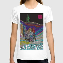 lonely village T-shirt