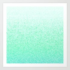I Dream in Mint Art Print