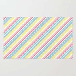 Party stripes Rug