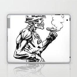 Military zombie - Skull military - zombie illustration Laptop & iPad Skin