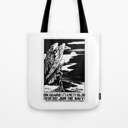 On Guard! Join The Navy! Tote Bag