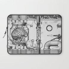 Mother Brain Super Metroid Engraving Scene Laptop Sleeve