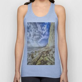 Birling Gap And Seven Sisters Art Unisex Tank Top