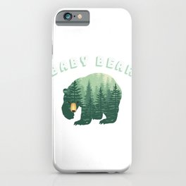 Baby Bear Forest Family Fun iPhone Case