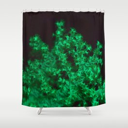 Glow coral glow! Shower Curtain
