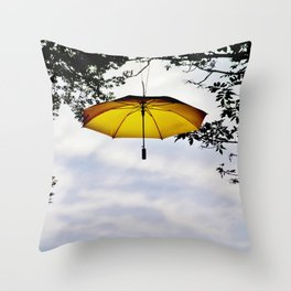Brolly In The Park 31 Throw Pillow