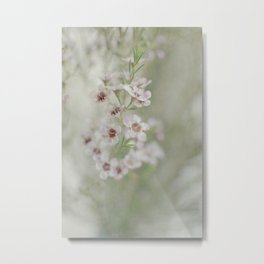 Daydreaming is Her Way -- Romantic Spring Floral Metal Print