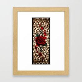A rose for Rome Framed Art Print