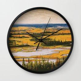 Wood Buffalo National Park Wall Clock