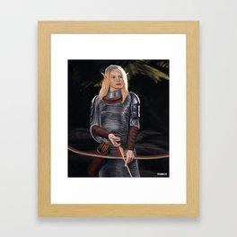 Elf Archer Framed Art Print