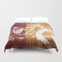 Corrugated Speed Duvet Cover