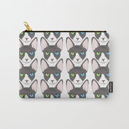 Odd-Eyed Sphinx Carry-All Pouch