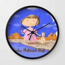 Arches National Park Service Centennial Wall Clock