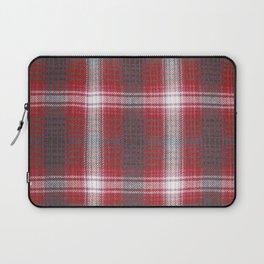 Texture #19 Plaid fabric. Laptop Sleeve
