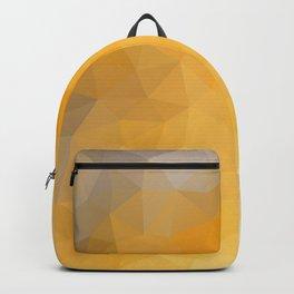 """""""Big city lights"""" triangles design Backpack"""