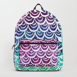 Watercolor Mermaid Alexandrite Backpack