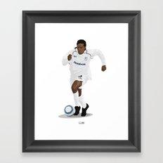 Jay Jay Okocha - Club - Bolton Wanderers  Framed Art Print
