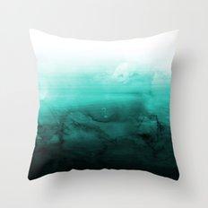 Green Lagoon Throw Pillow