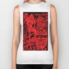The Ballad of Red Sonja - exclusive EP front cover Biker Tank