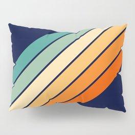 Farida - 70s Vintage Style Retro Stripes Pillow Sham
