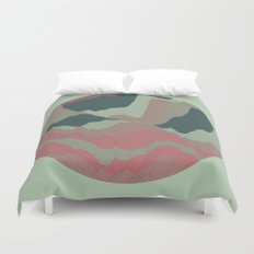 TOPOGRAPHY 008 Duvet Cover
