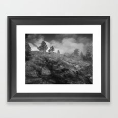 Towards the Watch Framed Art Print