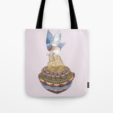 Quilted Bundles: The Bird II Tote Bag