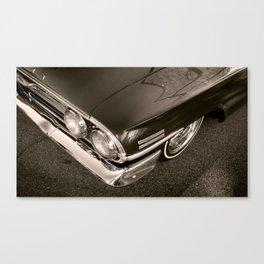 1960 B&W Canvas Print