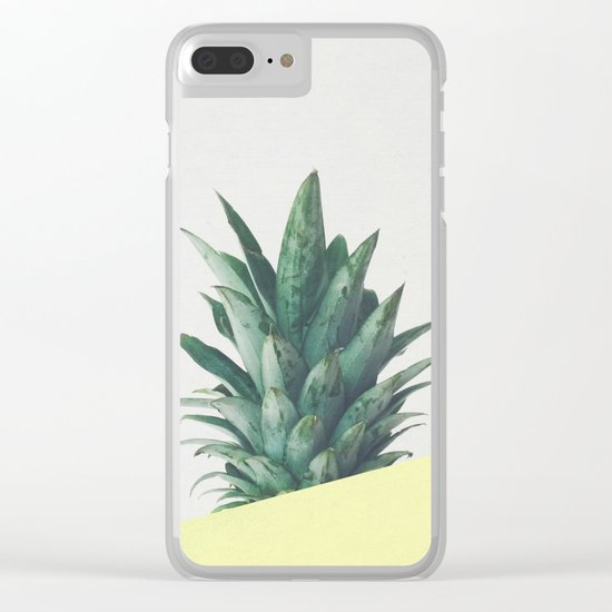 Pineapple Dip III Clear iPhone Case